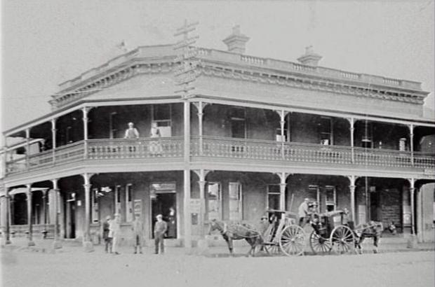 The Grand Central Hotel circa 1910
